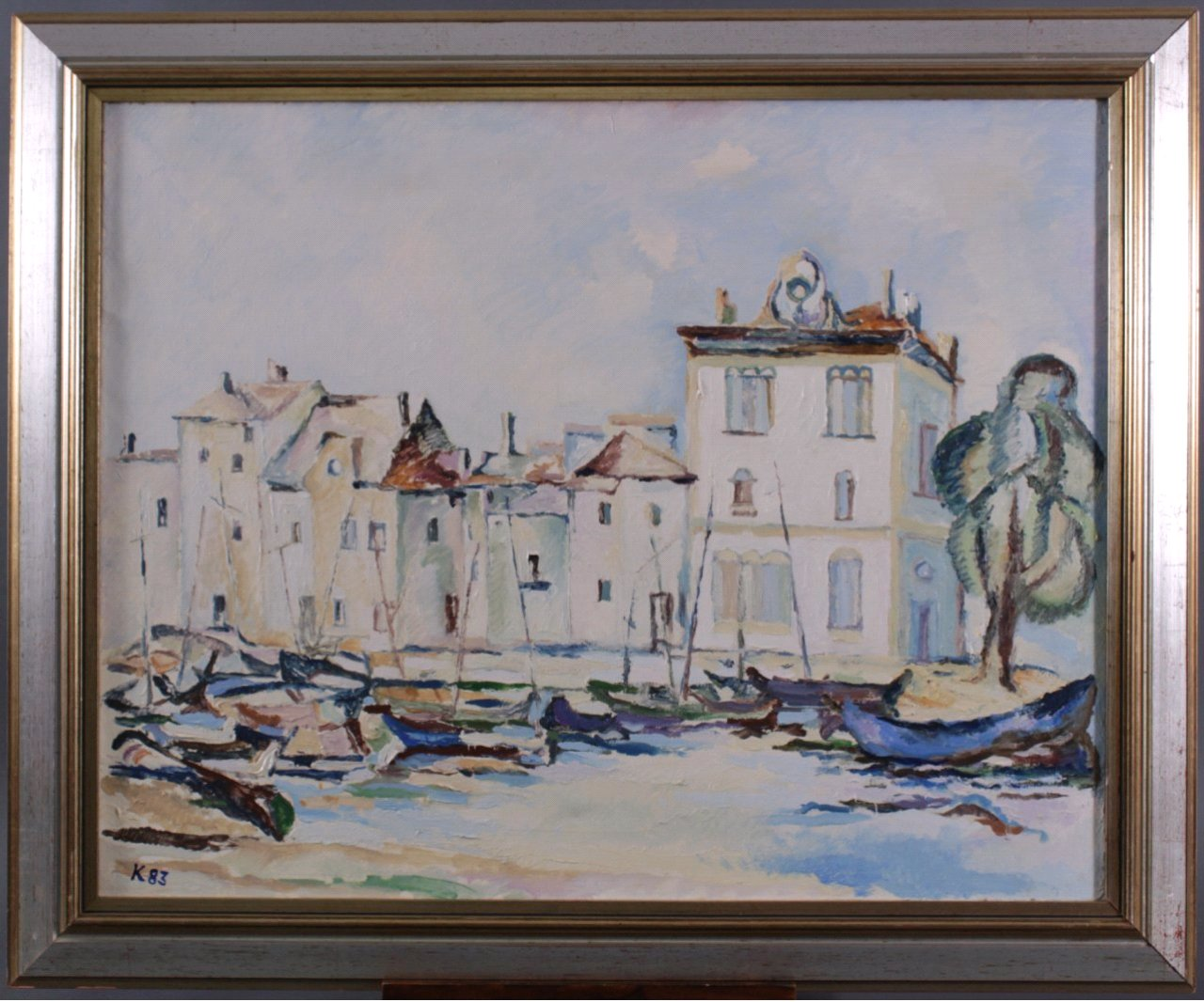 Kurt König 1915-1999, Fischerboote im Hafen