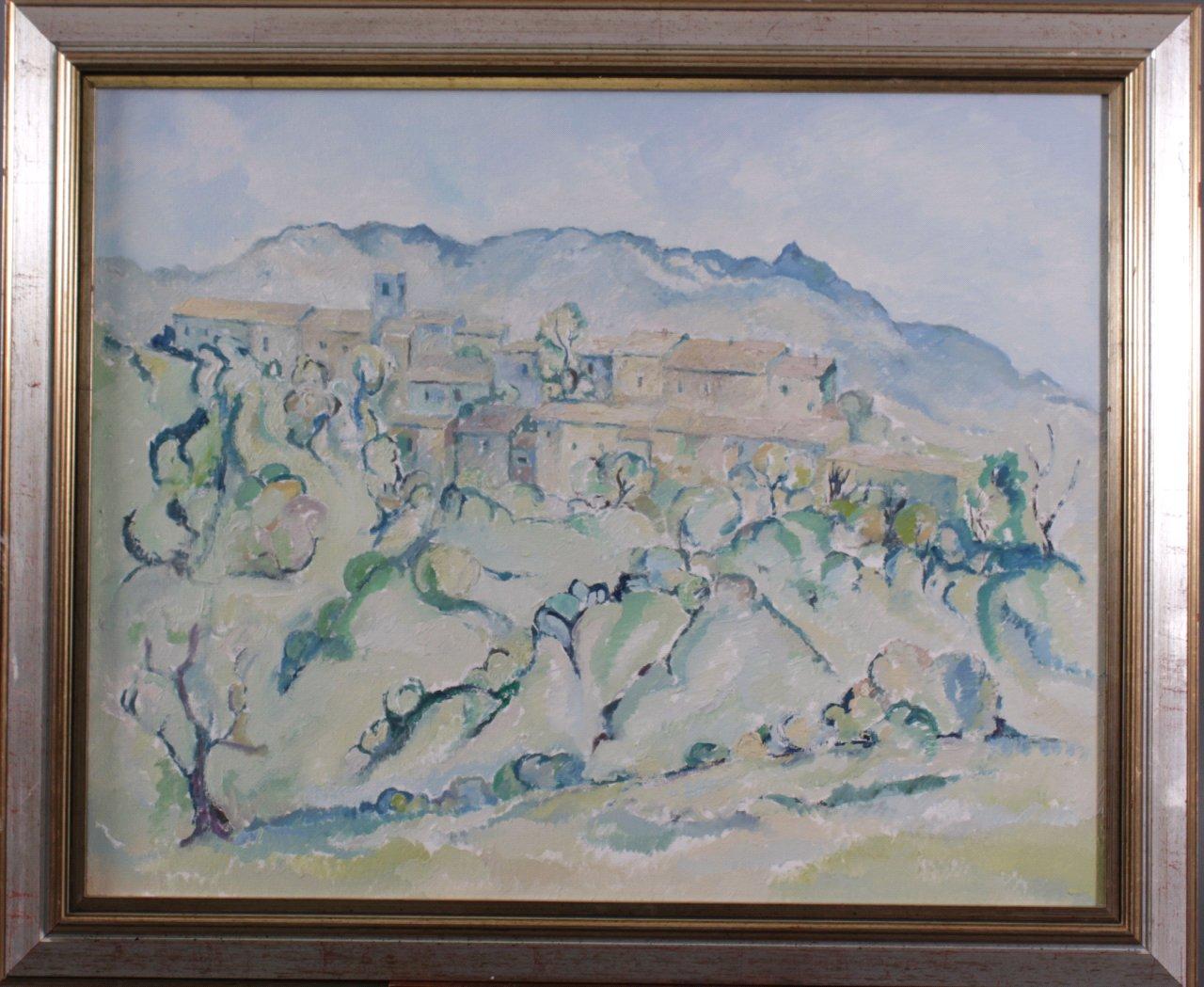 Kurt König (1915-1999), Gebirgsdorf Provence 1982