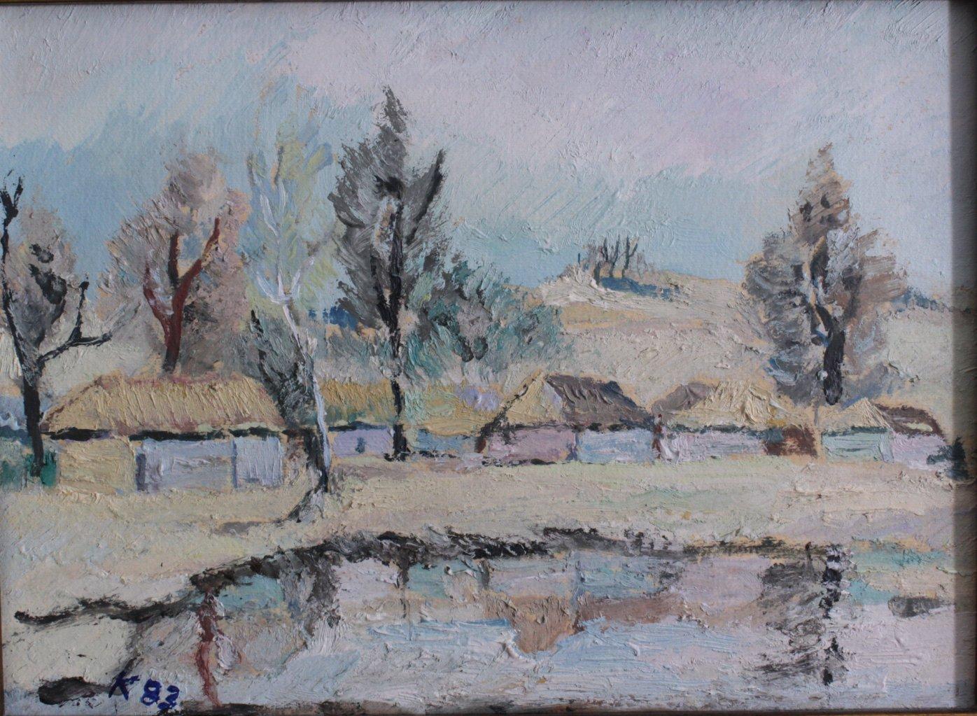 Kurt König 1915-1999, 4 Gemälde-1