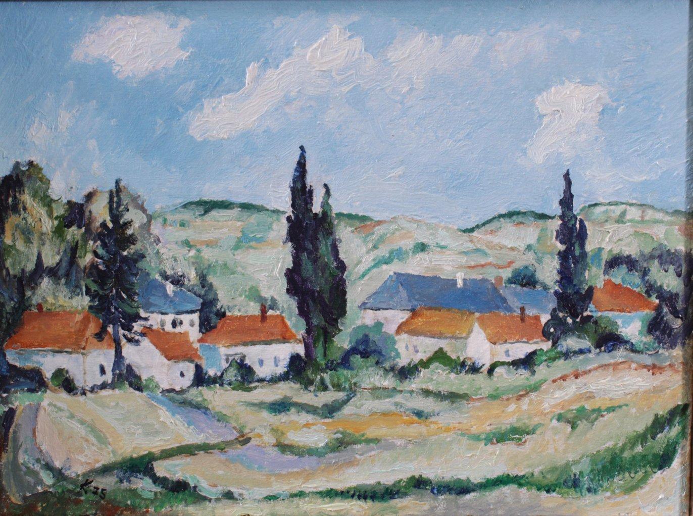 Kurt König 1915-1999, 4 Gemälde-2