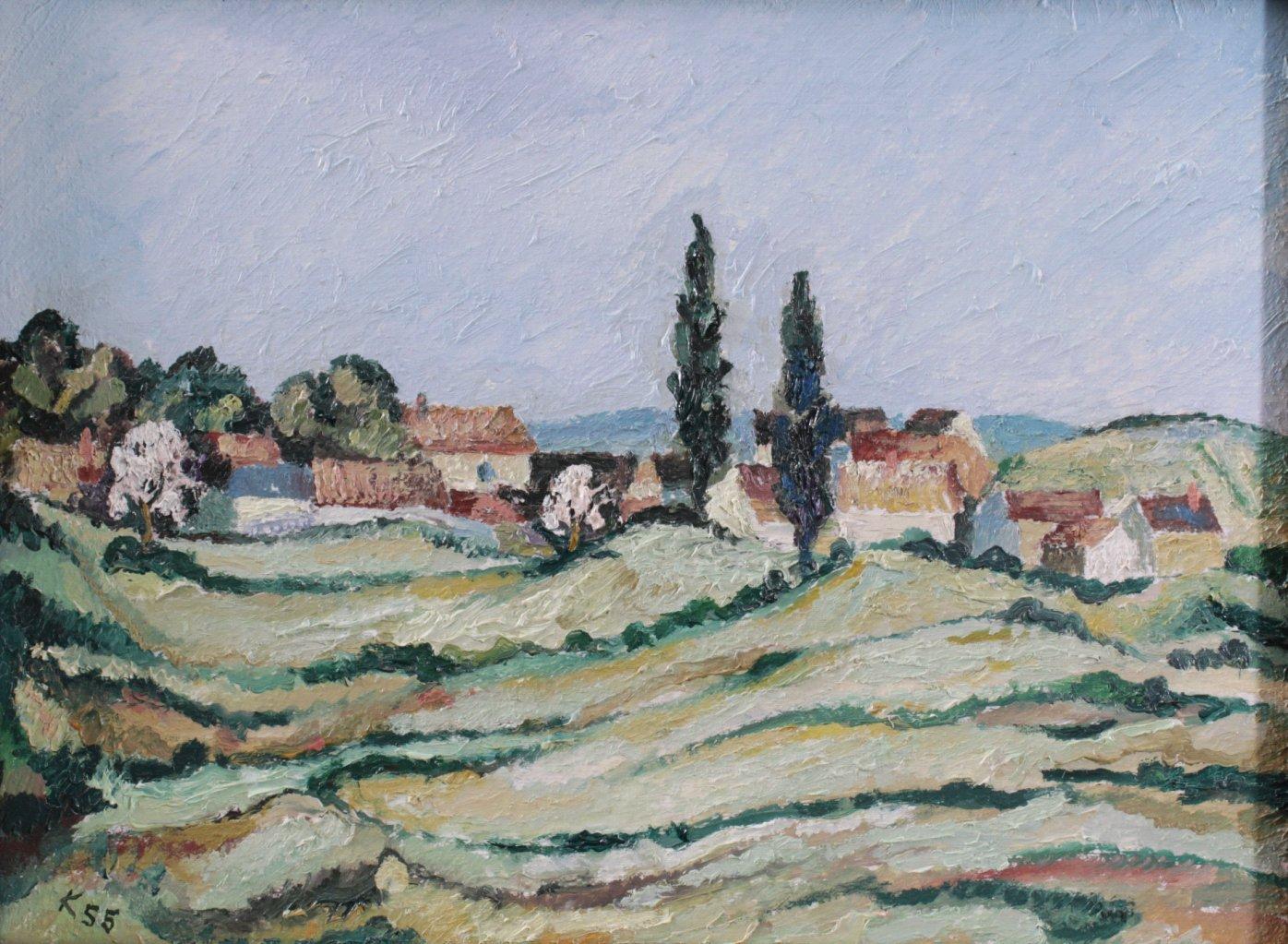 Kurt König 1915-1999, 4 Gemälde-3