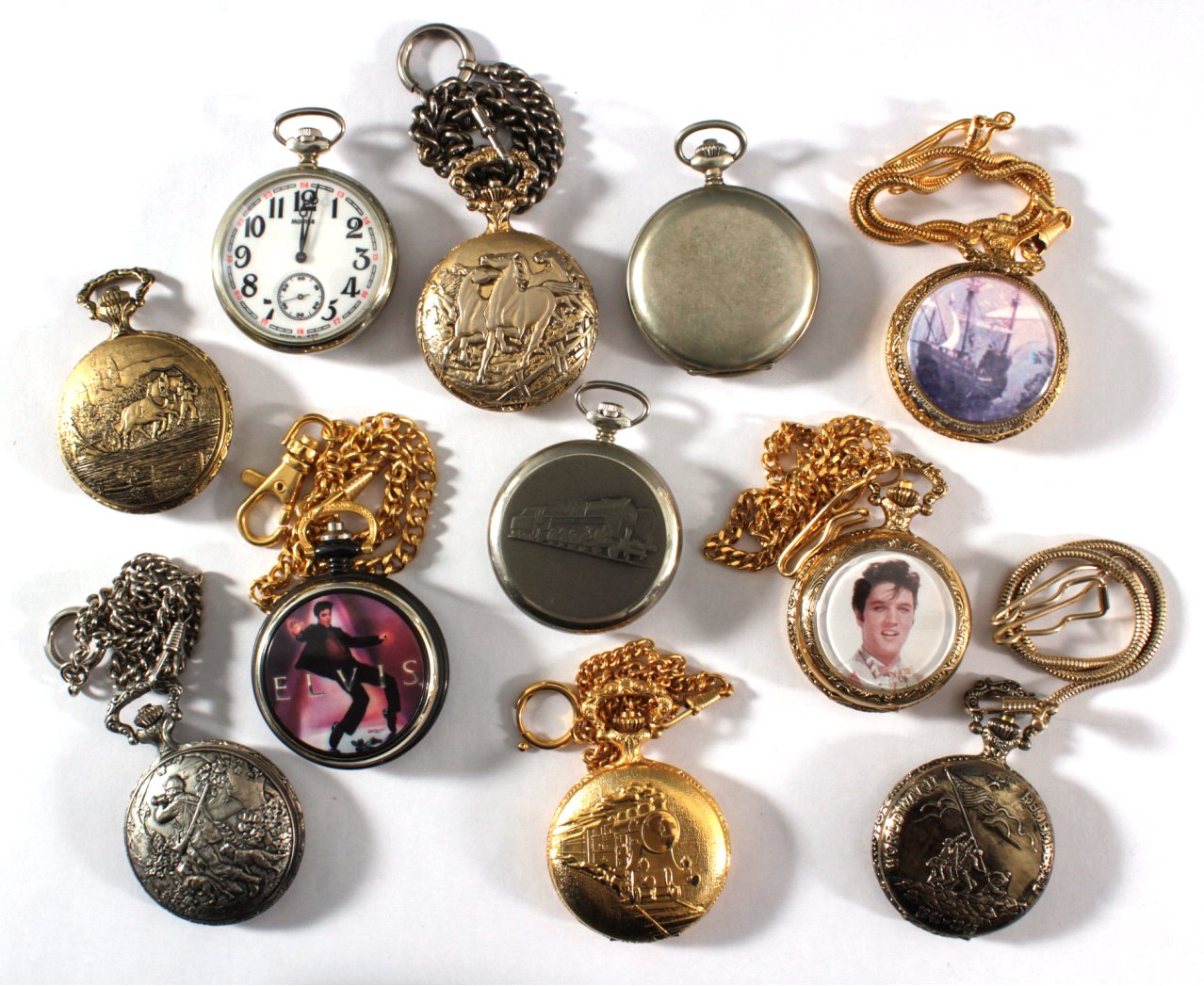 11 Taschenuhren