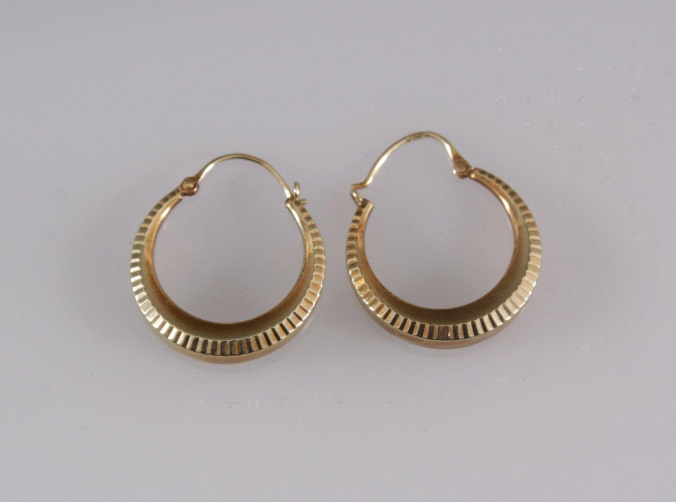 Paar Ohrringe