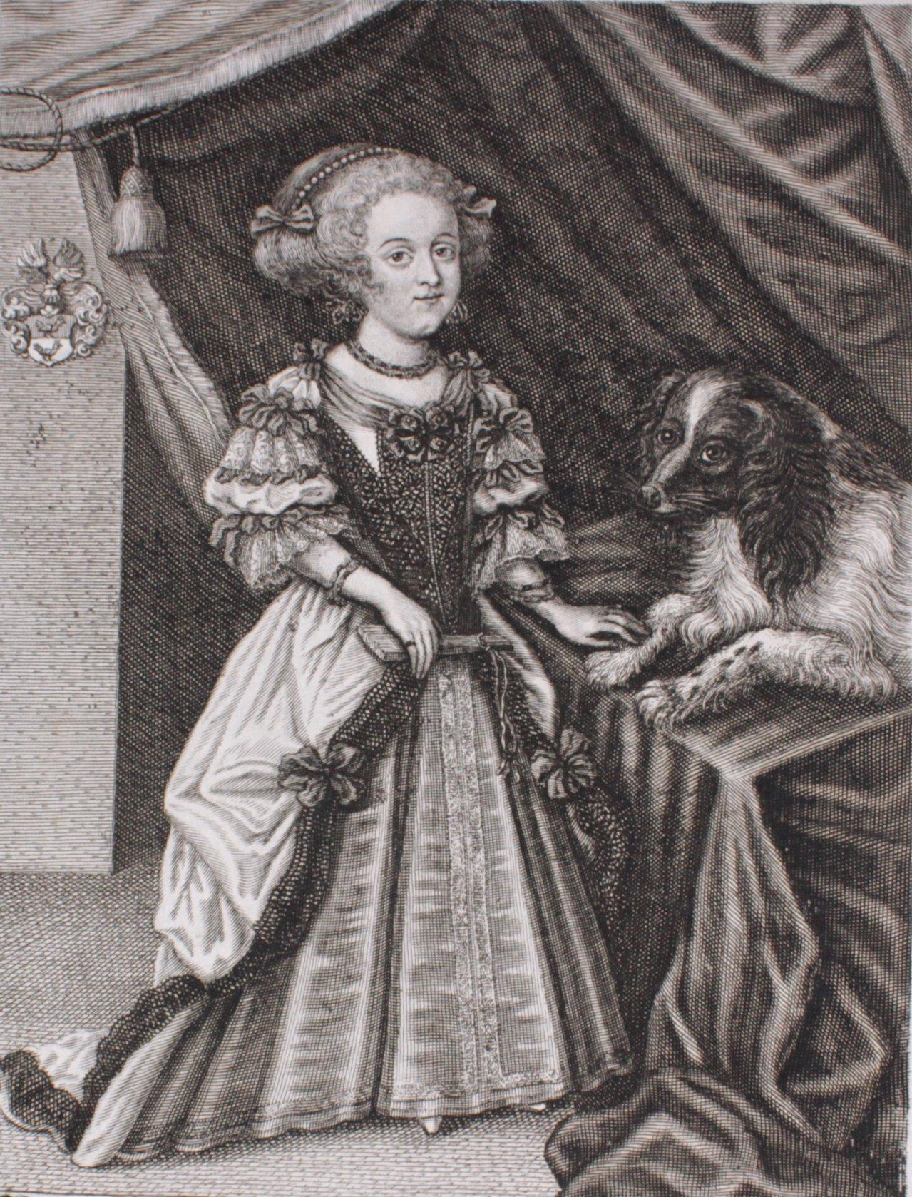 2 Portraits, Kupferstich 17. Jahrhundert-1