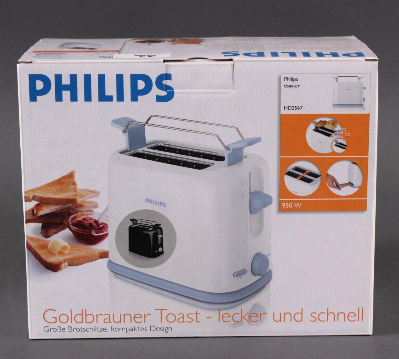 Philipps Toaster HD 2567