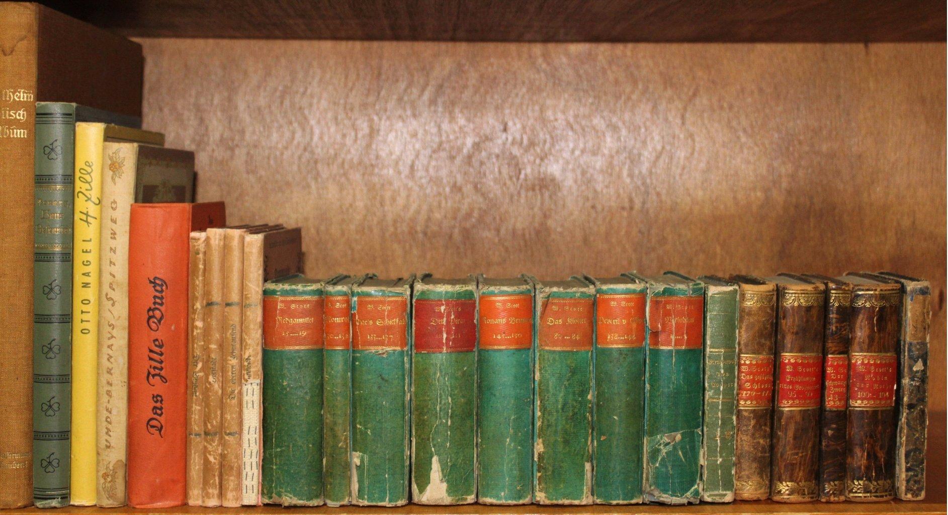 Konvolut antiquarischer Bücher