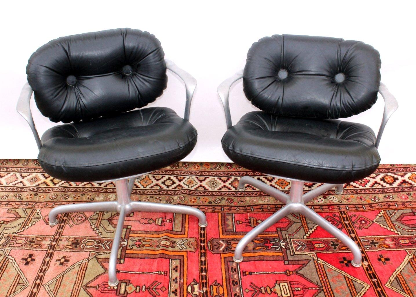Paar Stühle Knoll international, Drehstühle