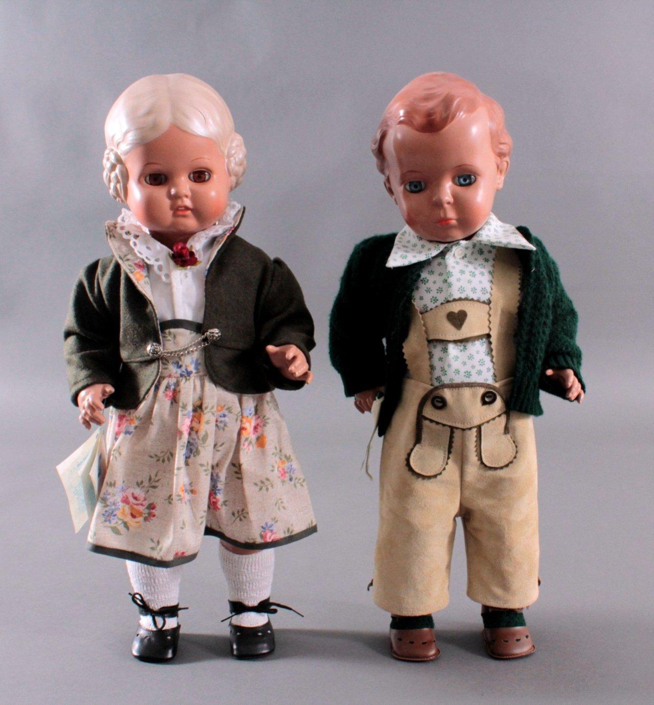 Schildkröt Puppenpaar Bärbel und Hans