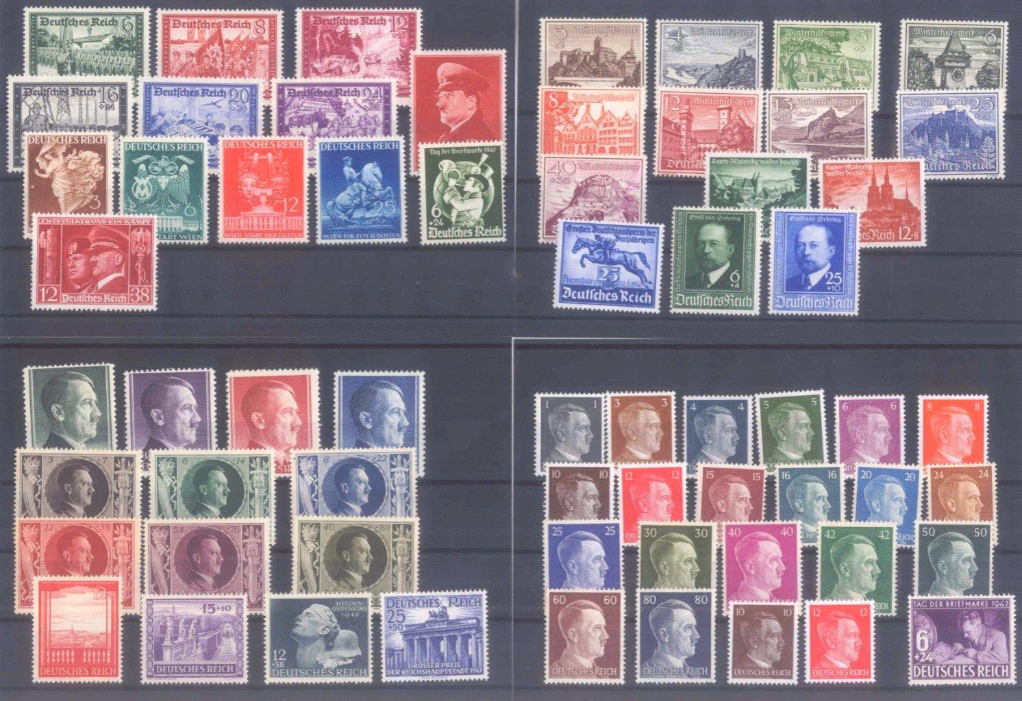 Partie Deutsches Reich, 10 Steckkarten