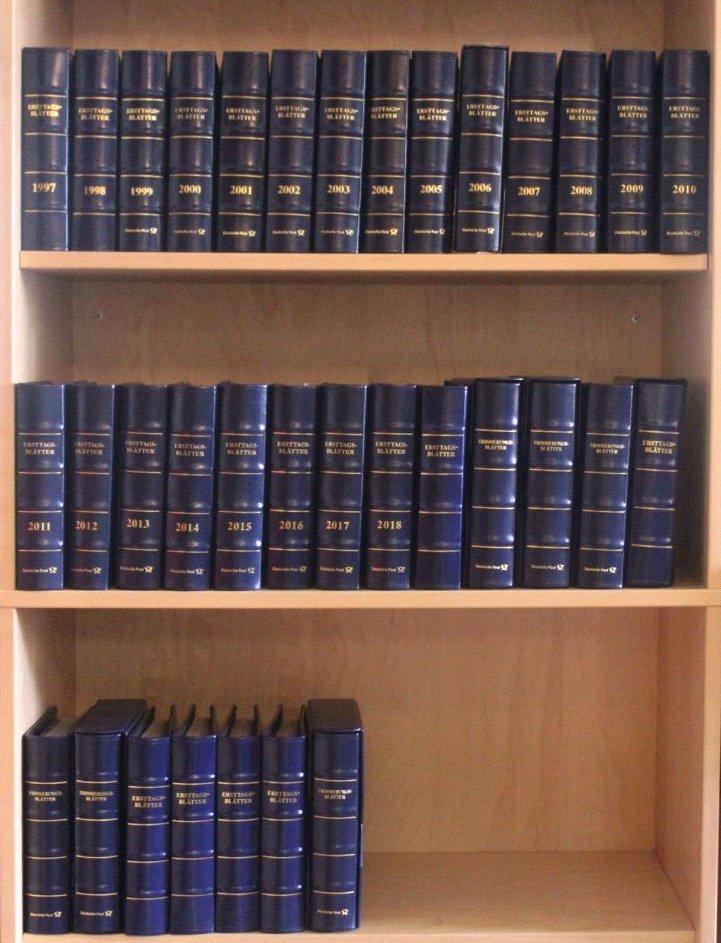 Sammlung ETB 1991-2017 und Erinnerungsblätter