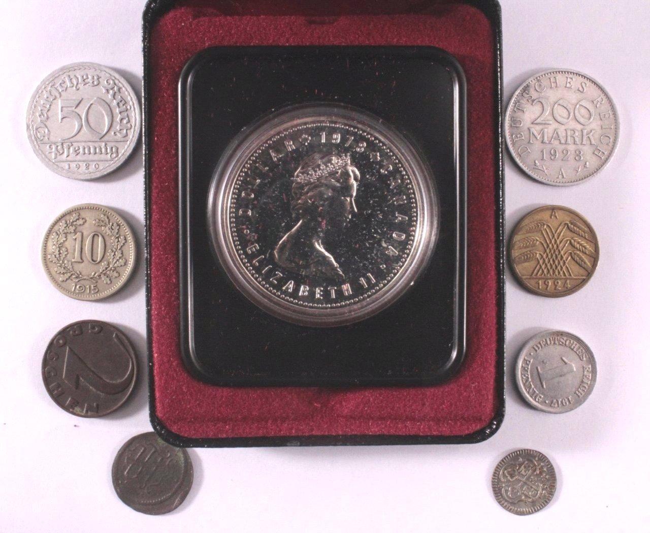 Kleines Los Münzen