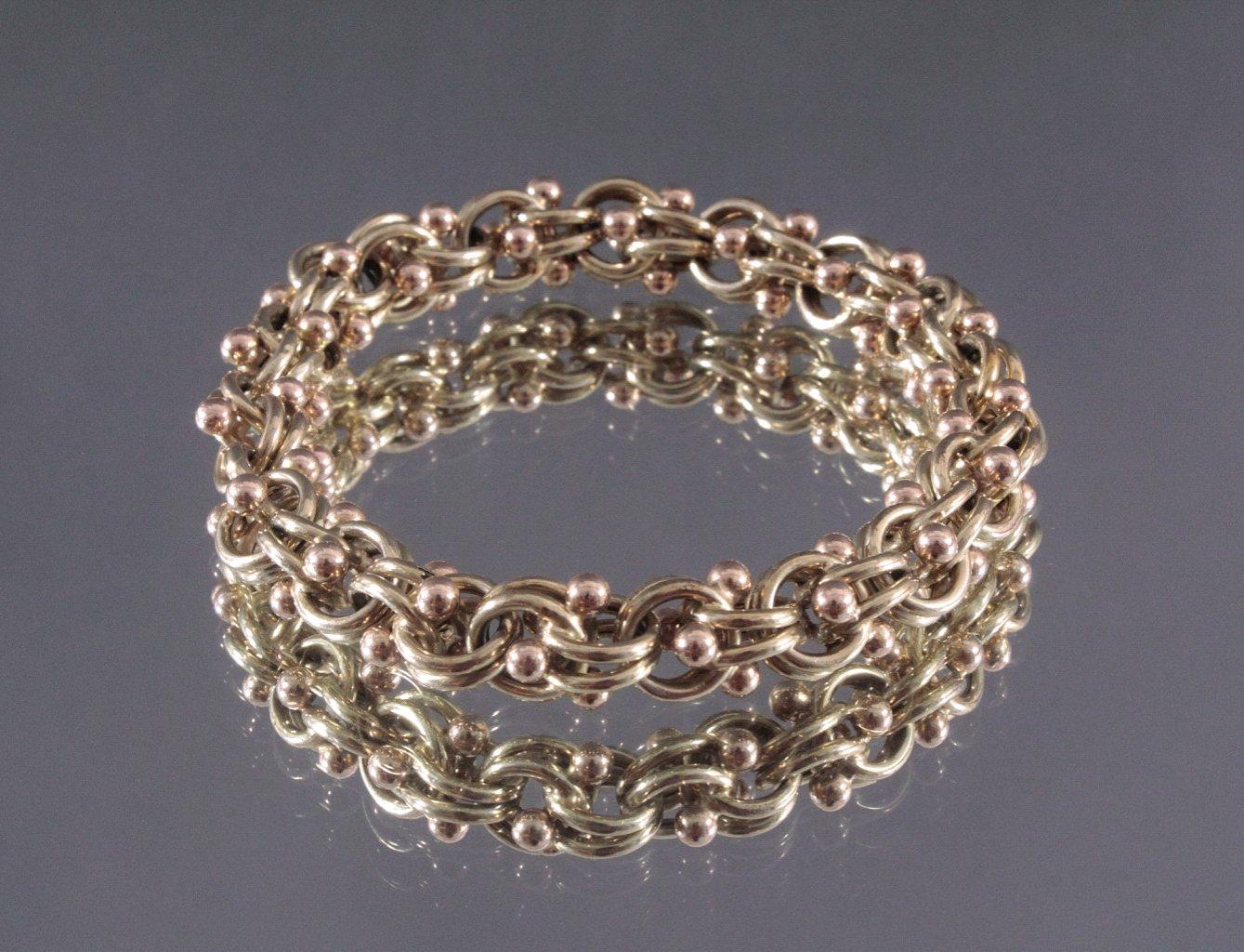 Damenarmband 585/000 GG.