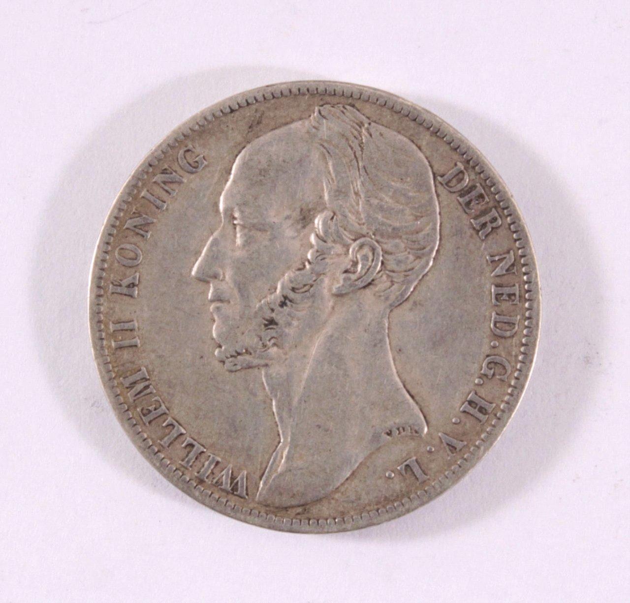 1 Gulden Willem II 1848