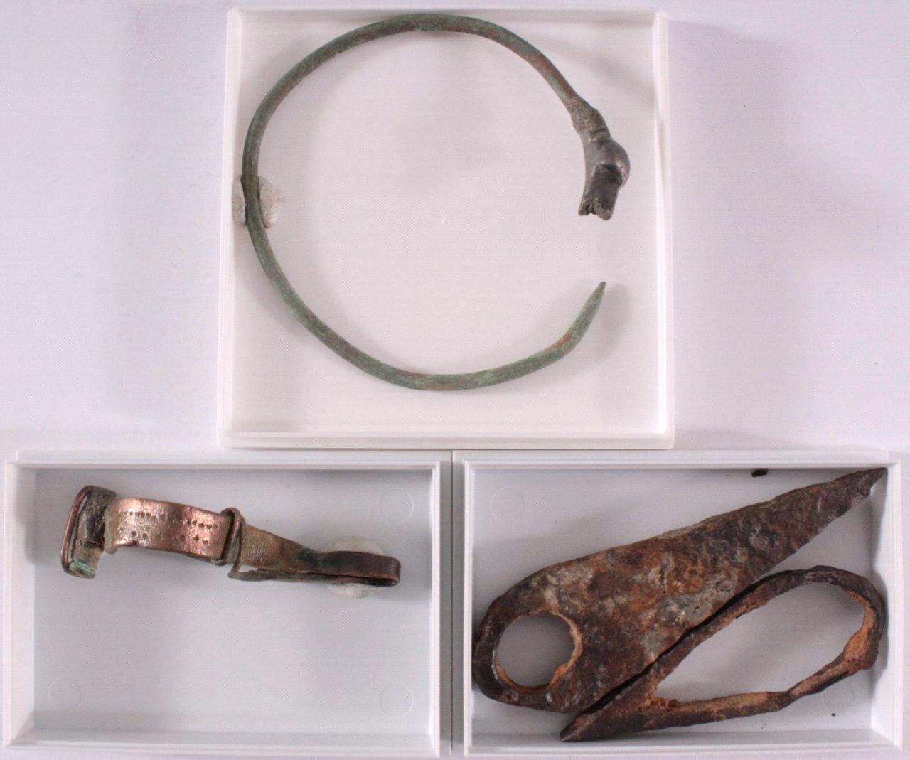 3 römisch/keltische Artefakte