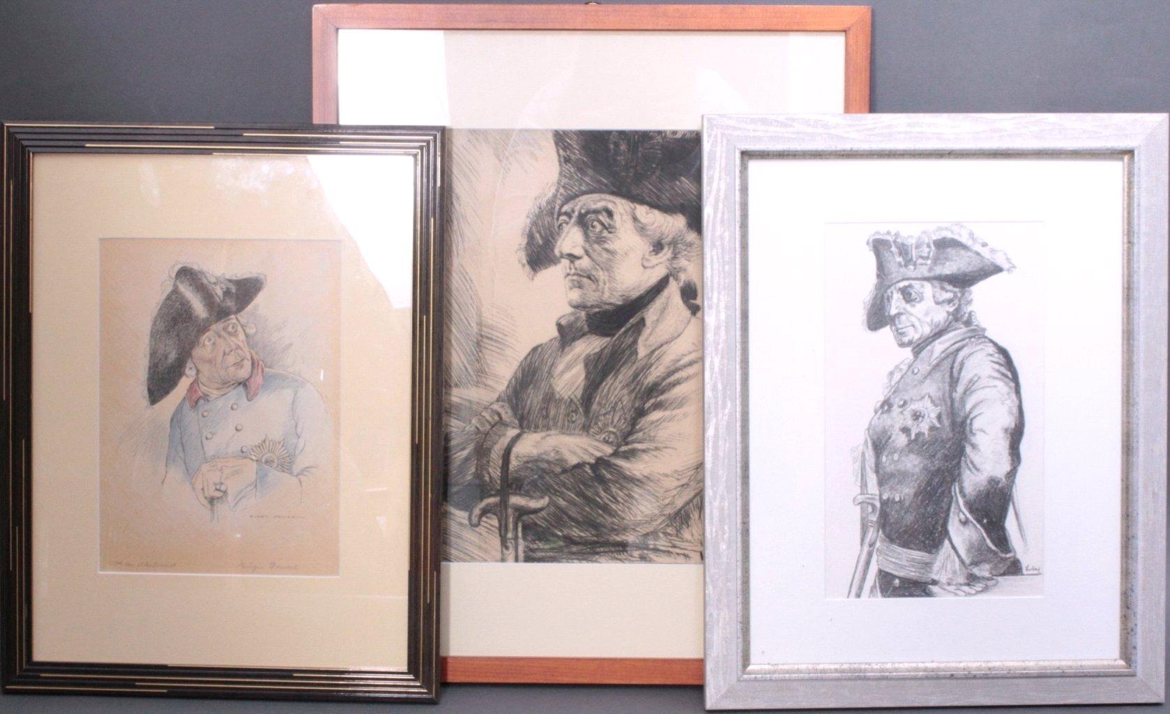 Portraits Friedrich des Großen