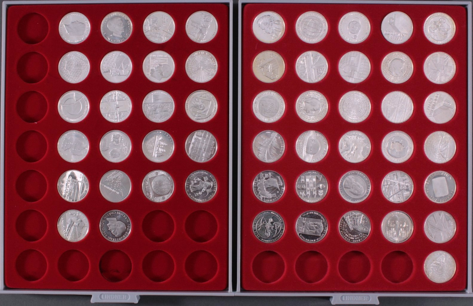 53 10-Euro Münzen