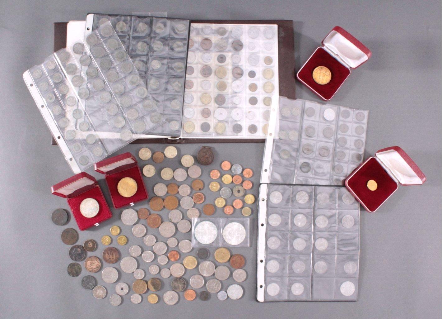 Kleine Münzsammlung, Deutschland und alle Welt