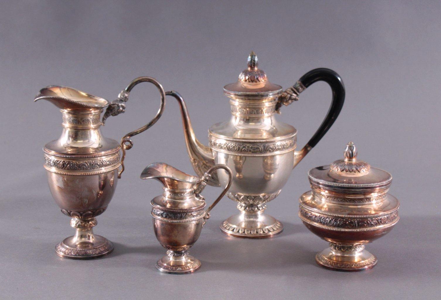 Kaffeekern, 835er Silber