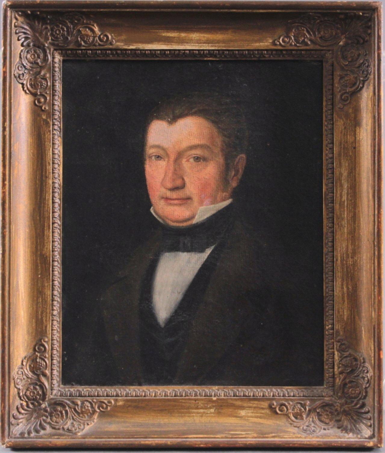 Portrait des Professors Karl Sachs (1786-1853 Mannheim)