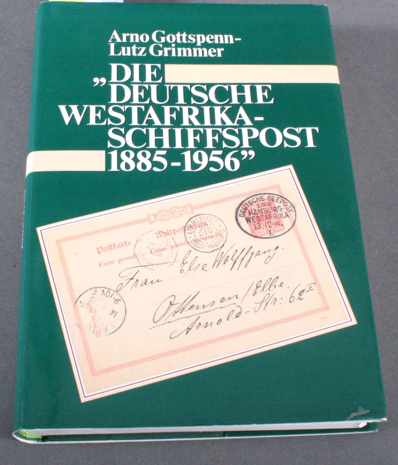 DEUTSCH SÜDWESTAFRIKA – LITERATUR Schiffspost 1885-1956