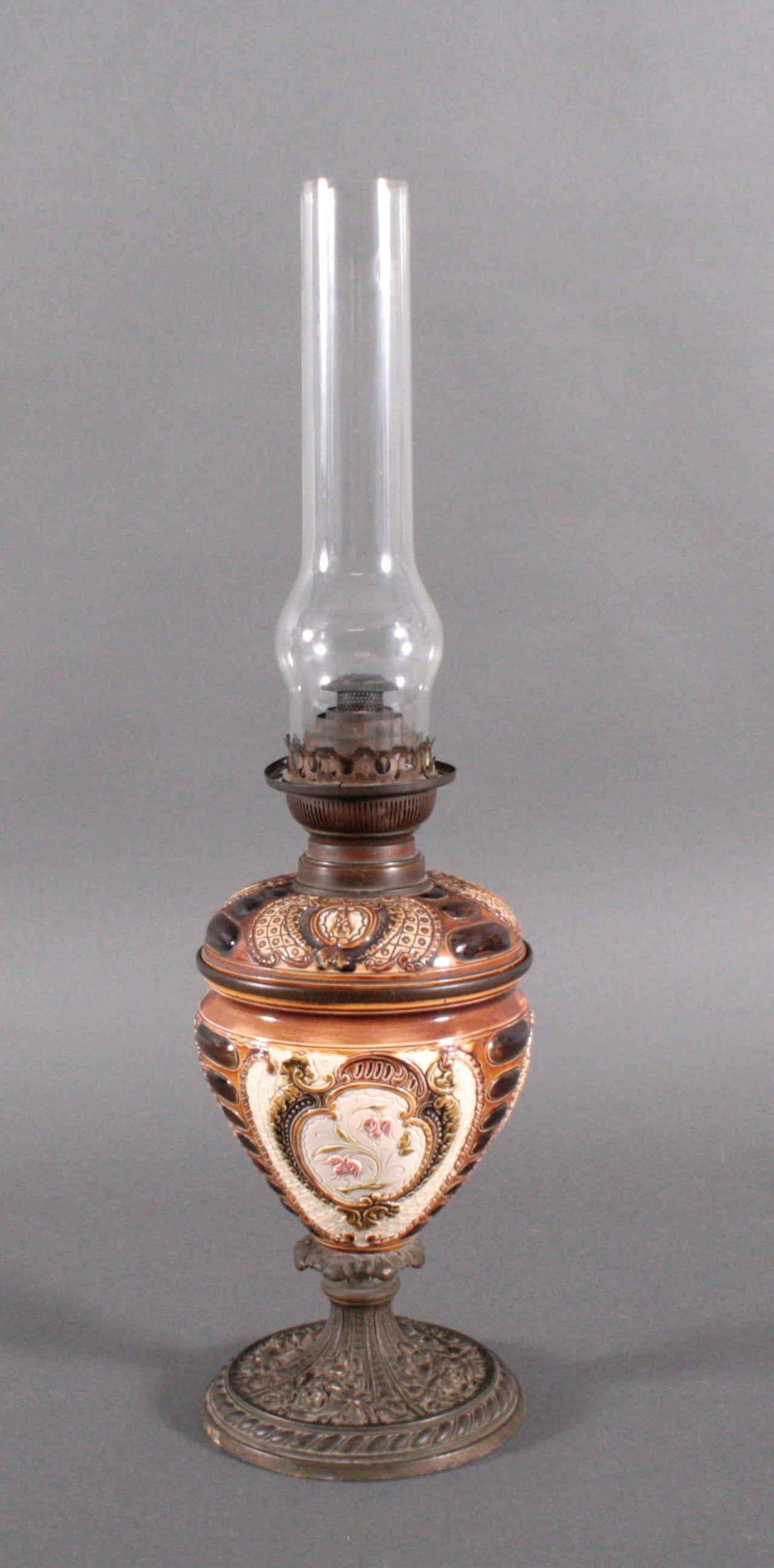 Petroleumlampe um 1900