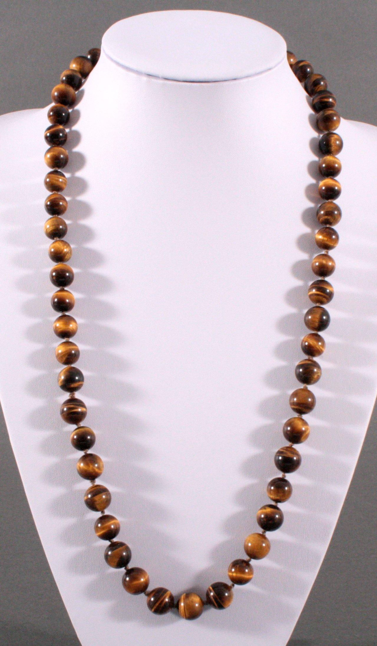 Tigerauge Halskette