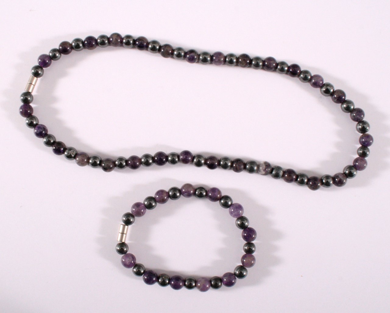 Achat Halskette und Armband-1