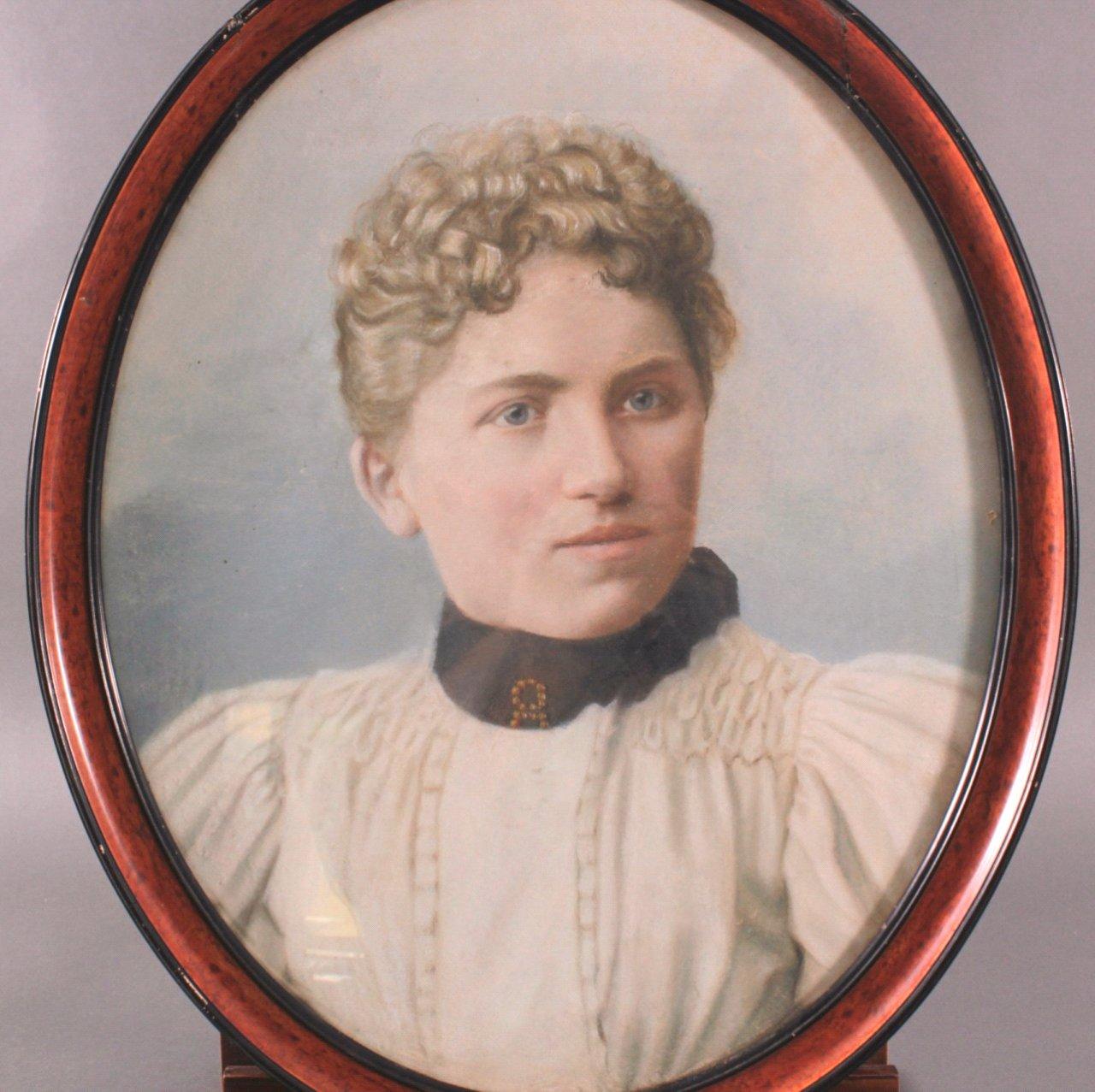 Damenporträt um 1900-1