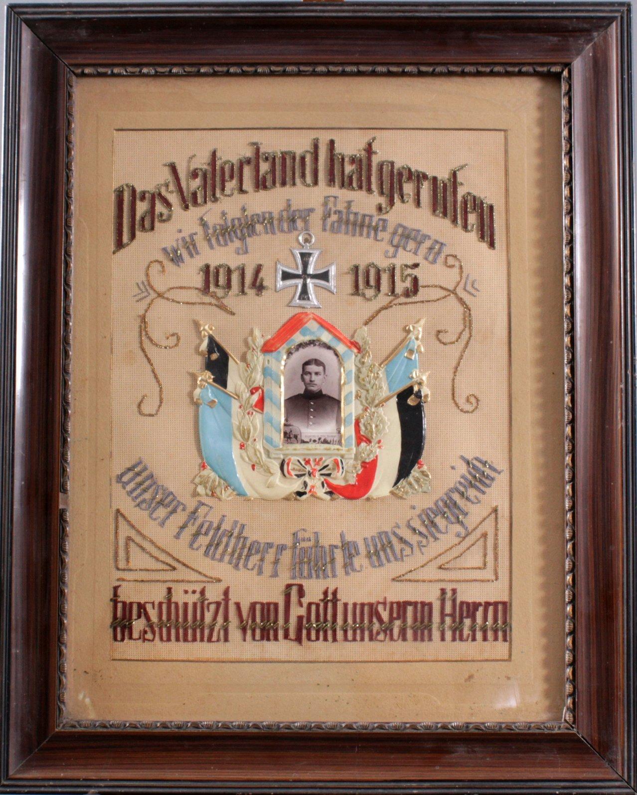 Reservistenbild WK I (1914/1915)