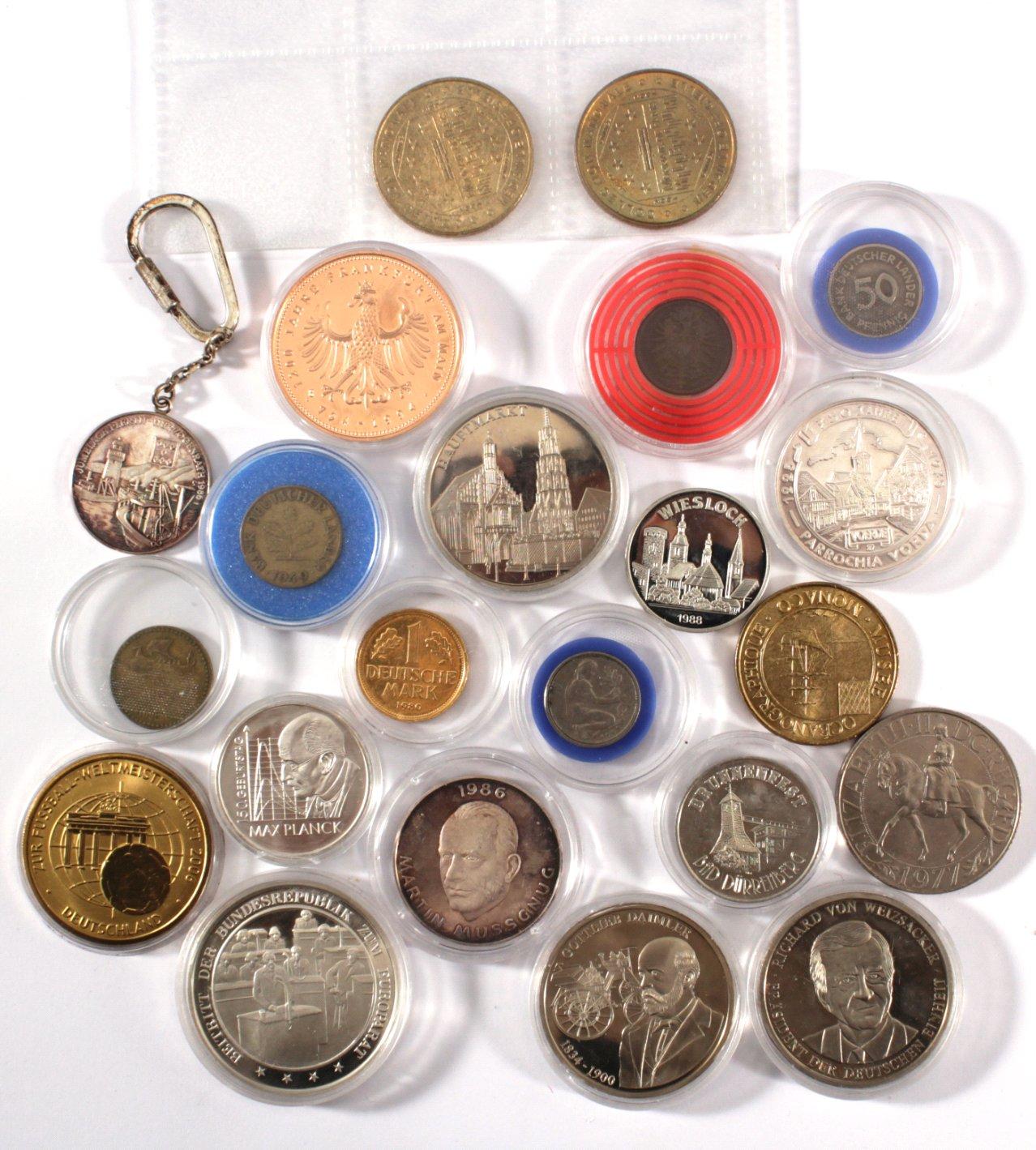 Kleine Sammlung Münzen und Medaillen