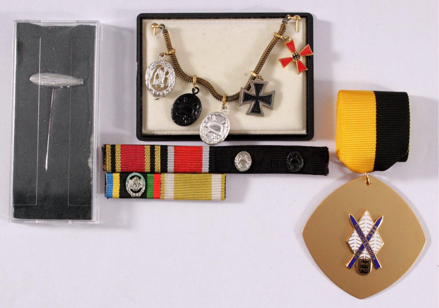 Kleine Sammlung Militaria