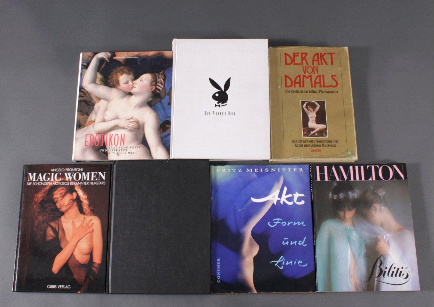 Konvolut Bücher zum Thema Erotik, 7 Stück