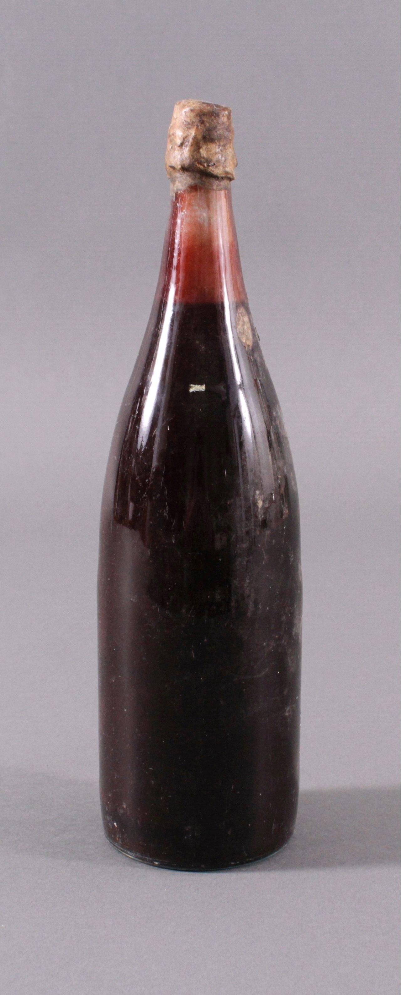 Antike Flasche Wein, ohne Datumsangabe-2