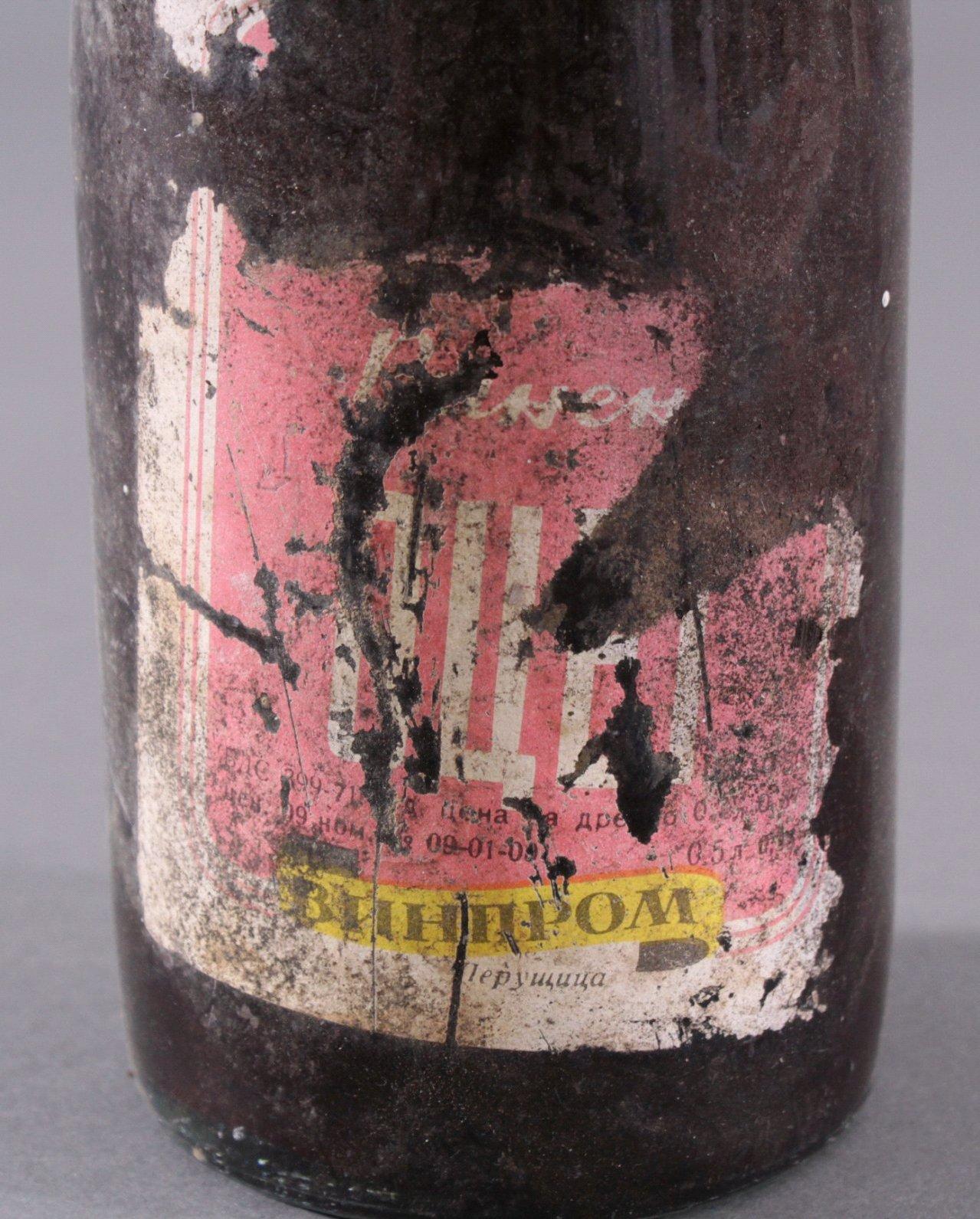 Antike Flasche Wein, ohne Datumsangabe-4