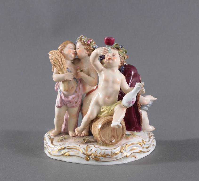 Figurengruppe Meissen, 'Die vier Jahreszeiten', I Wahl
