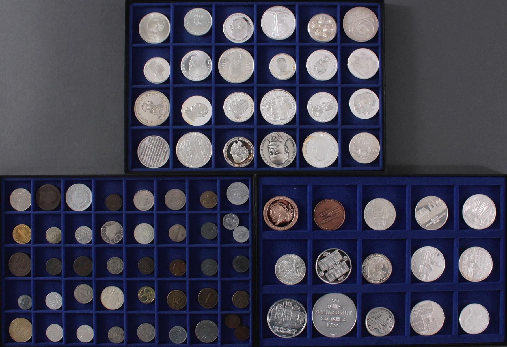 Münzen und Medaillensammlung, 81 Stück