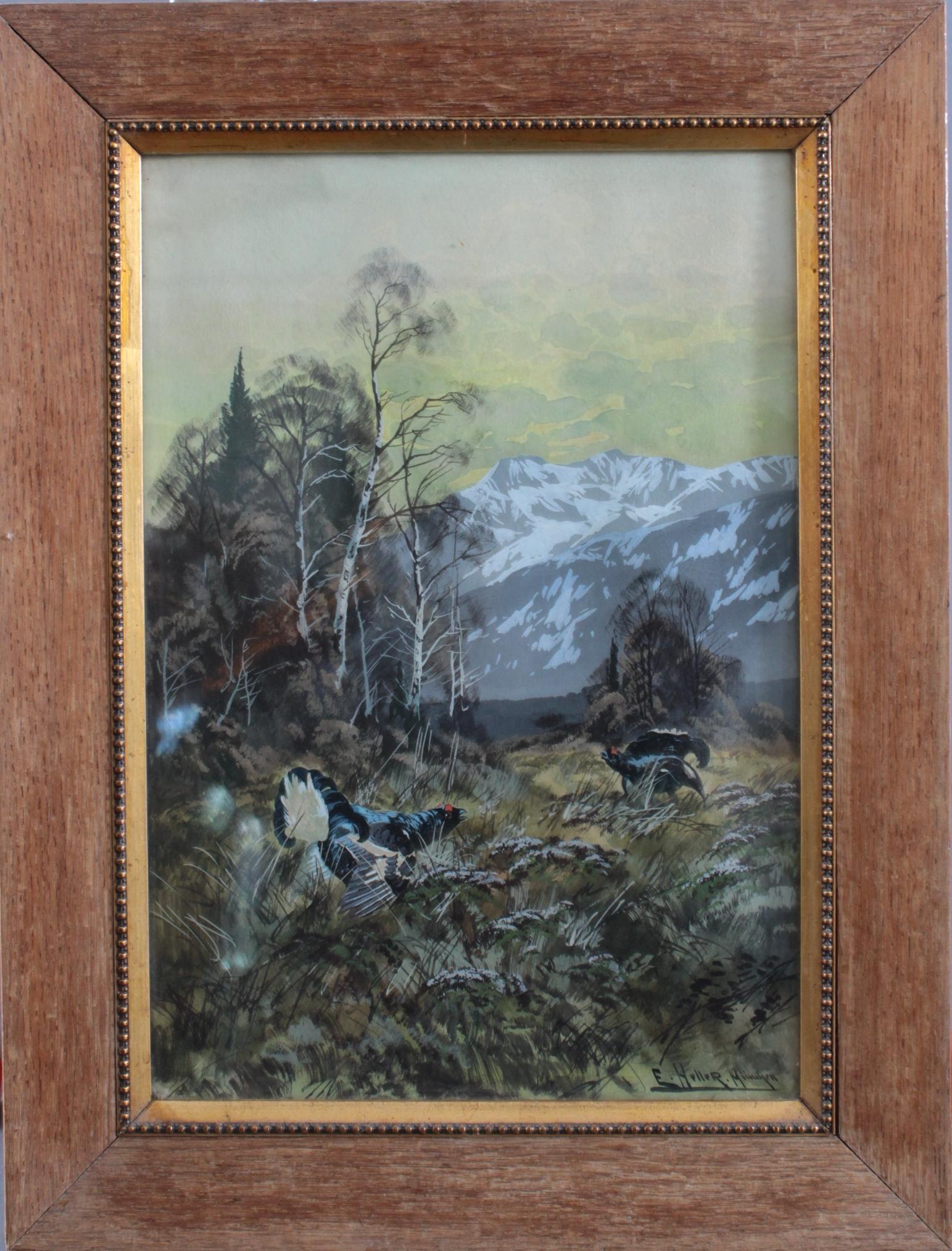 Eduard Heller 1852 – ? 'Birkhanbalz'