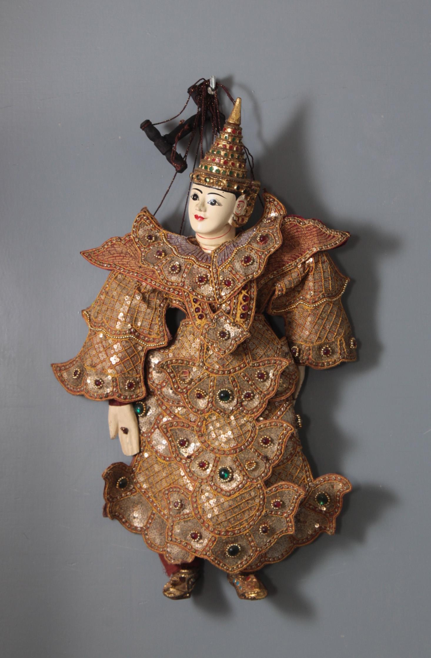 Marionette-Figur, 'Fürst'
