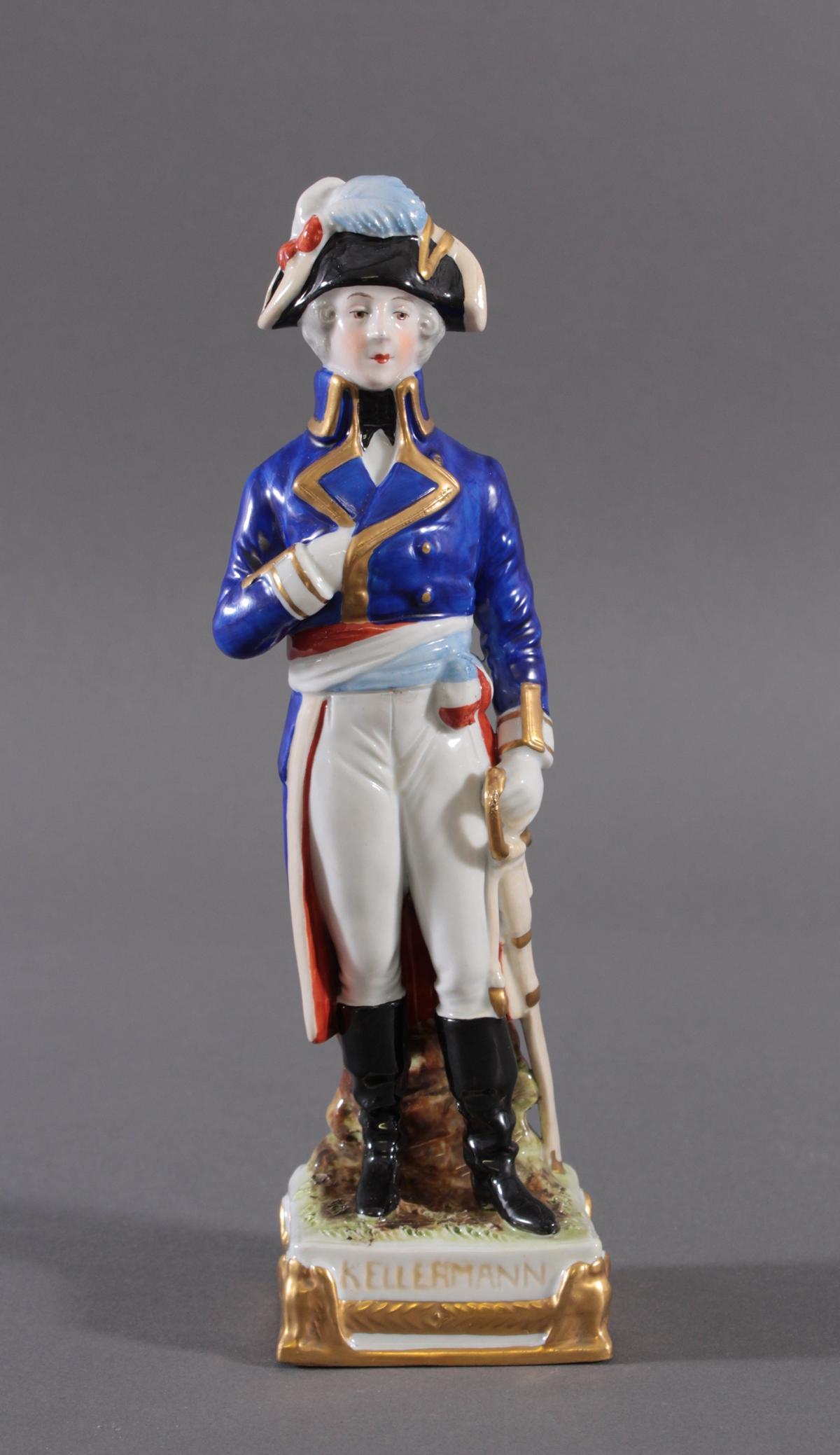 Scheibe Alsbach – Figur, Marshall Francois-Christophe Kellermann 1735 – 1820