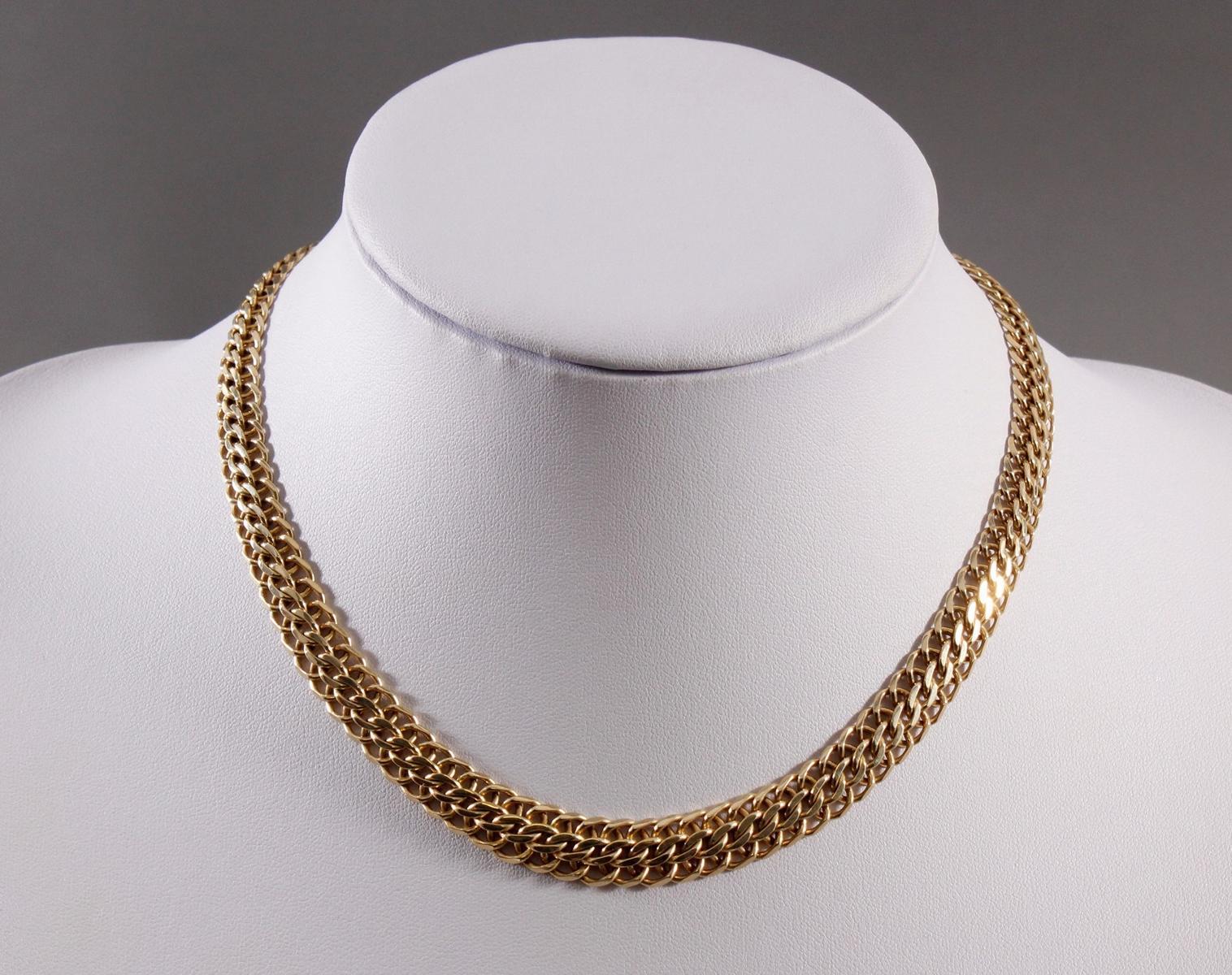 Halskette, 14 kt Gelbgold