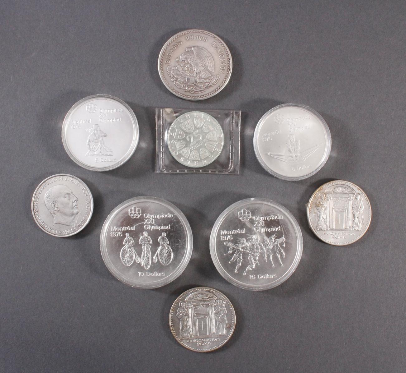 Sammlung Silbermünzen