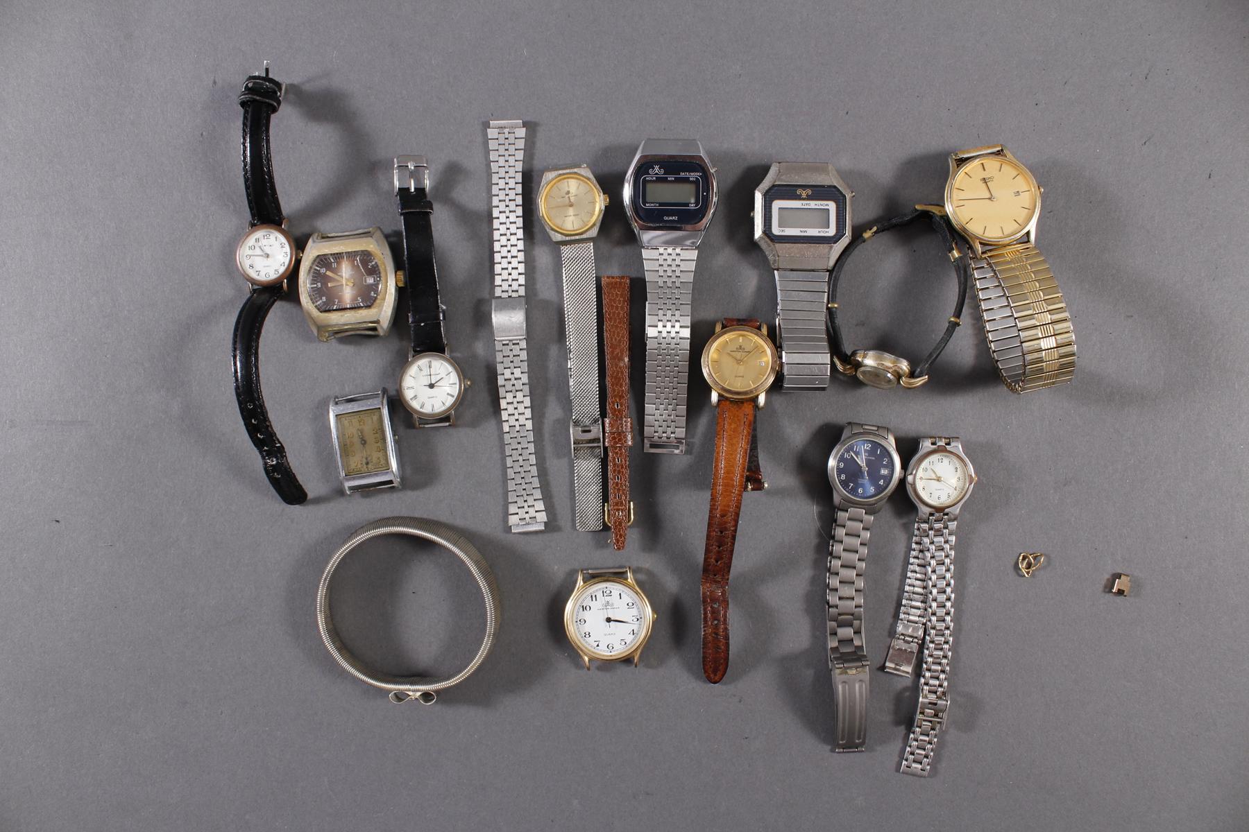 Konvolut Armbanduhren