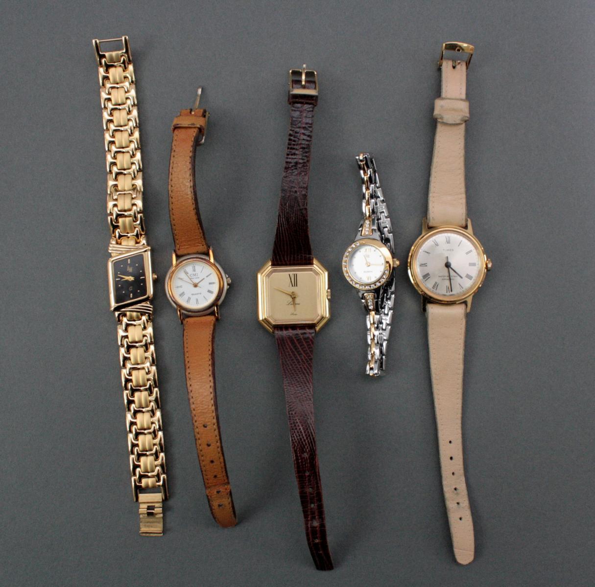 Konvolut Damenarmbanduhren unterschiedlicher Hersteller