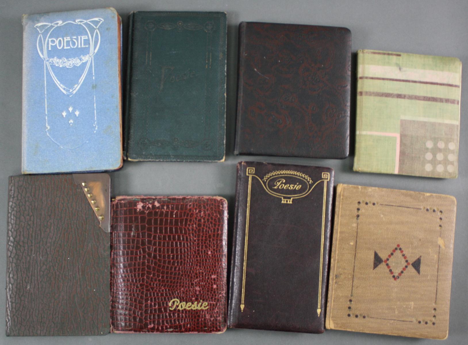 Poesiealben ab 1900 bis 1960