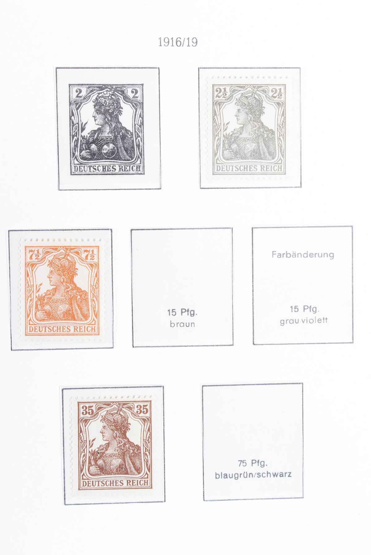 Sammlung Deutsches Reich 1872-1945