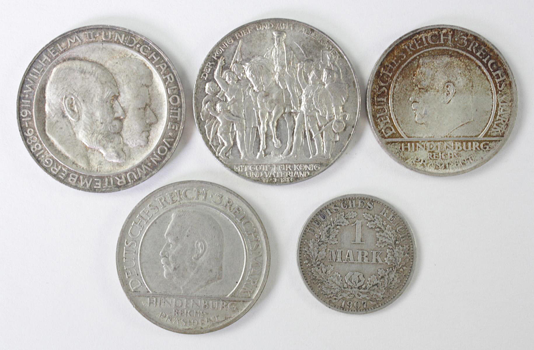 5 Reichsmünzen