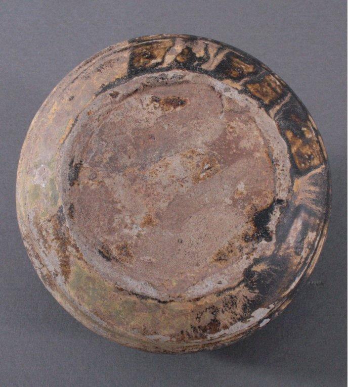Rundes Vorratsgefäß, Angkor-Periode 12. / 13. Jhd.