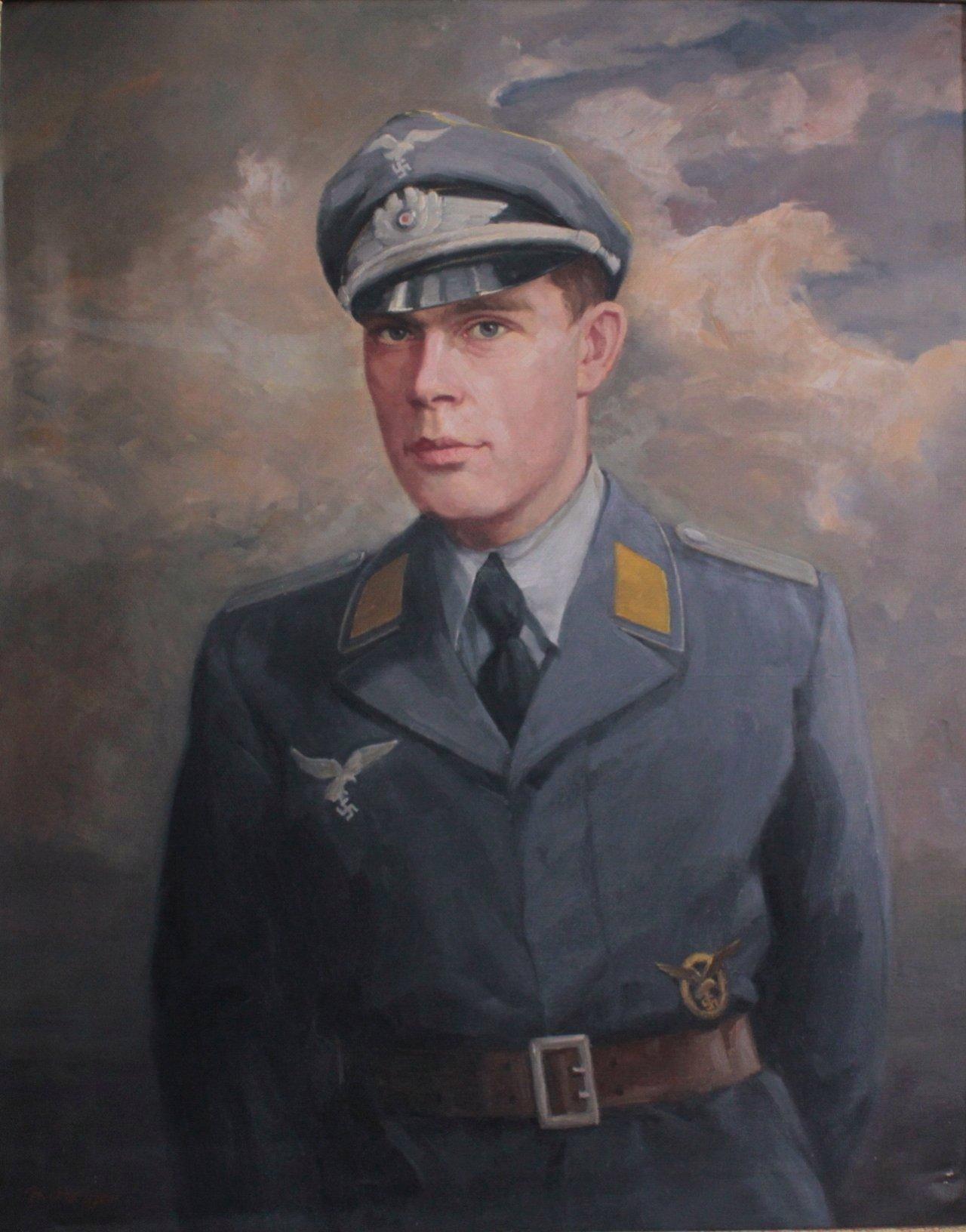 Ölgemälde Soldat der Wehrmacht