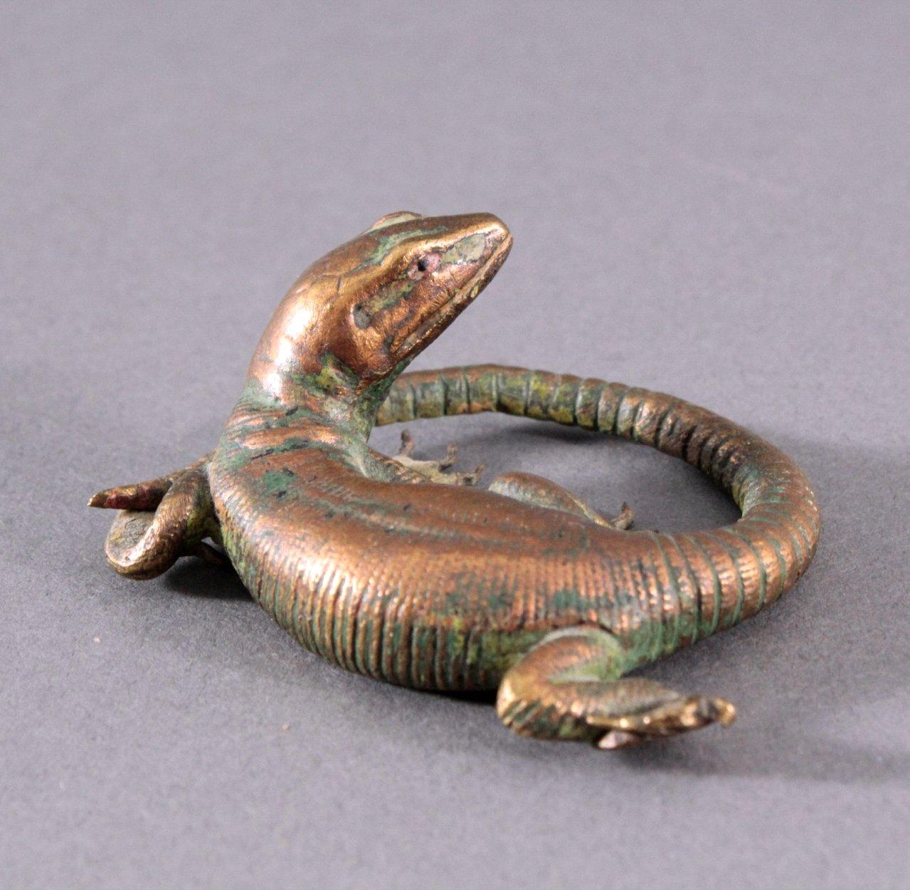 Wiener-Bronze, Eidechse-2