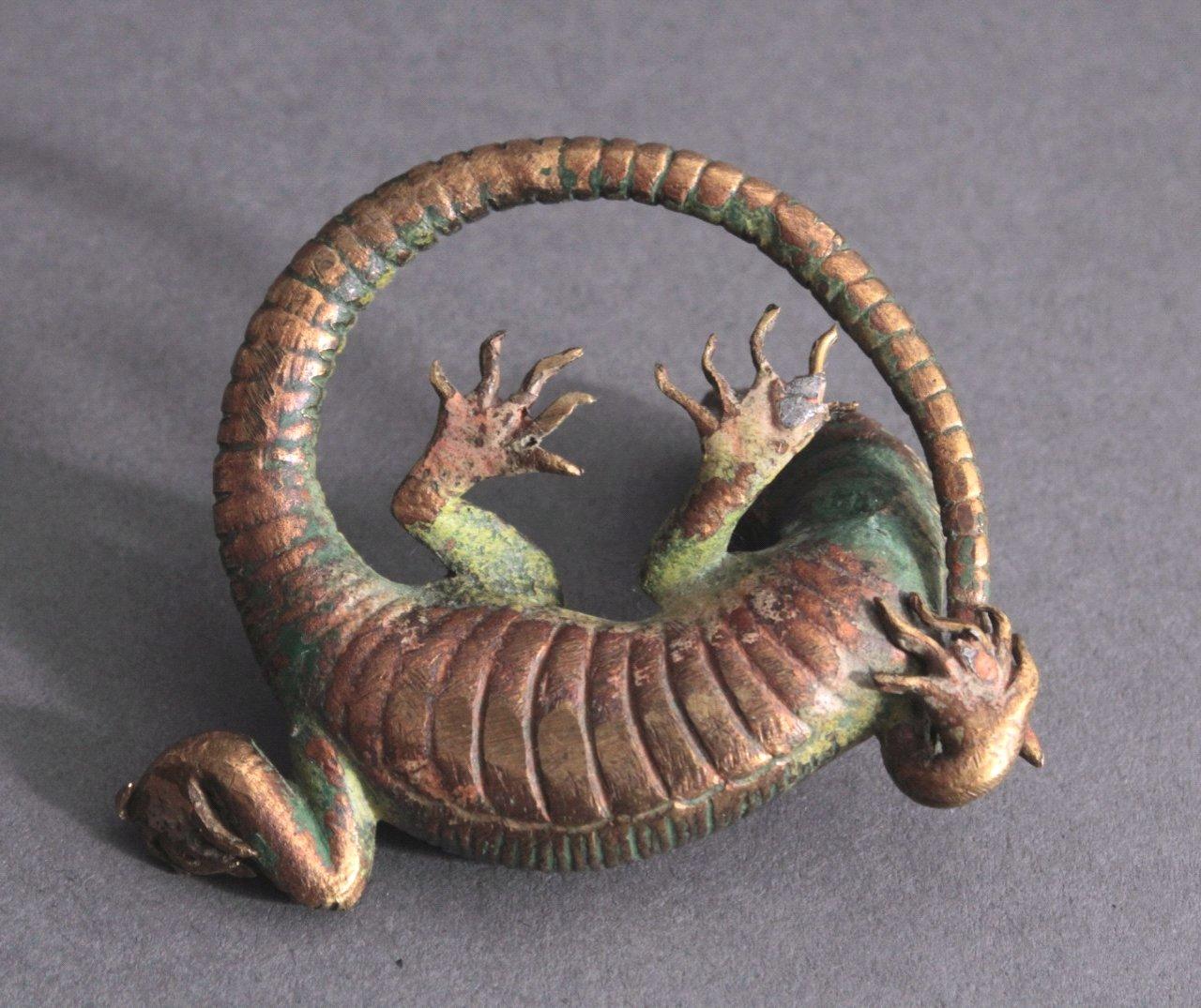 Wiener-Bronze, Eidechse-3